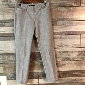 New York & Co. 7th Ave. size 2 gray ankle pants